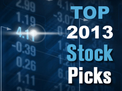 Top stock pick 2013