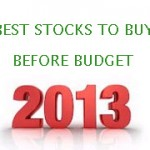 Best Stocks to buy before Union Budget 2013-2014