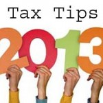 13 Income tax related tips for 2013