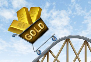Gold price negative
