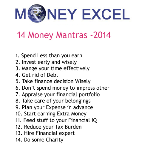 Money Mantras 2014