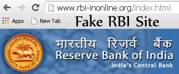 fake rbi site