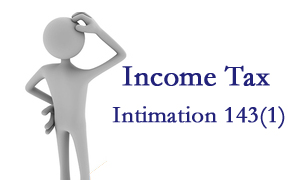 Income Tax Intimation