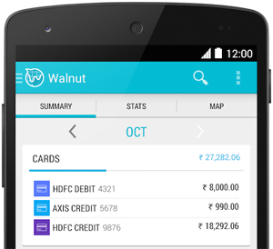 walnut expense manager