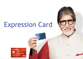 expression debit card