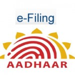 Validate your Income Tax return by Aadhar Card