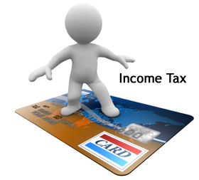 credit card income tax