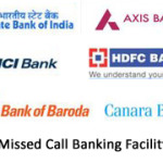 Missed Call Banking Phone Number of All Banks