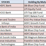 Top 10 Stocks held by Best Mutual Funds