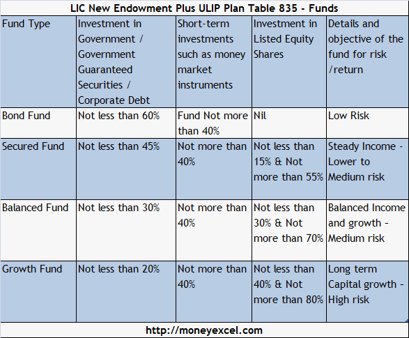 LIC New Endowment