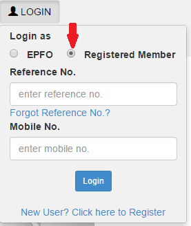 epf account register