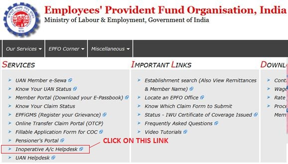 inoperative-epf-account-helpdesk