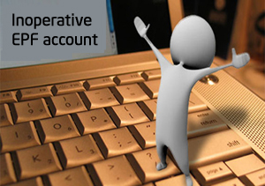 inoperative epf account