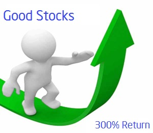 10 good stocks 300 return in past one year