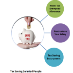 How Salaried Person can maximize tax saving?