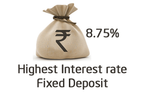 Highest Interest rate fixed deposit