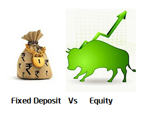 fixed deposit vs equity