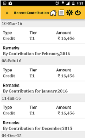 NPS mobile app contribution