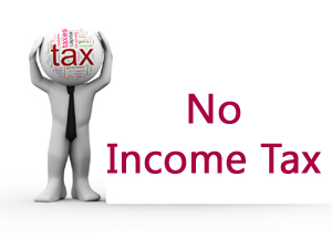 No Income tax