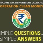 Cash Deposits – Online Verification on Income Tax Site