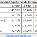 Best Diversified Equity Funds for Investment – 50% return in one year