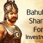 Bahubali Shares for the bahubali returns