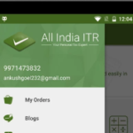 All India ITR Mobile App for ITR filing