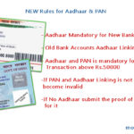5 New Rules for Aadhaar Card & Banking