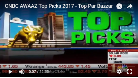 cnbc top stocks 2017