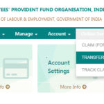 Transfer EPF Online using EPF Unified Member Portal