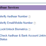 How to Check your Aadhaar Bank Account Linking Status?