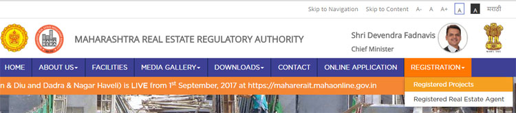 rera registered projects