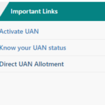 Direct UAN Allotment – Unified Portal EPFO Service