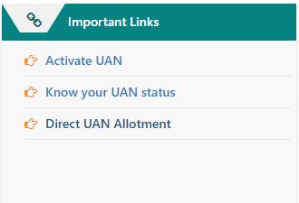 Direct UAN Allotment