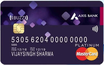 Axis Buzz Credit Card