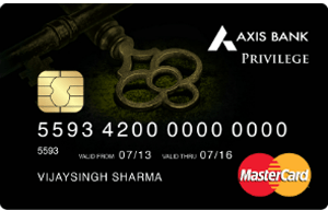 Axis Bank Privilege Card
