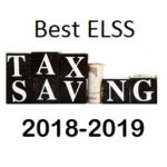 Best ELSS Tax Saving Mutual Funds 2018-2019