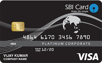 sbi platinum corporate card