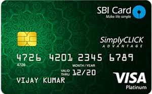 SBI Simply Click Best Credit Card