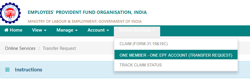 One Member One EPF Account