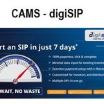 CAMS digiSIP – Simple way to start SIP Online in 7 days