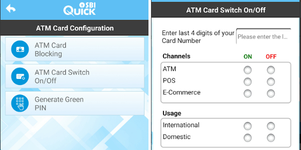 switch off credit card