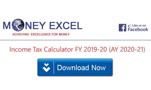 income tax calculator fy 2019-20  ay 2020-21