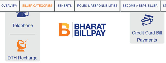 Bharat Billpay Credit Card Payment