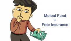 Mutual fund with free insurance