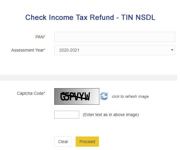 check income tax refund online
