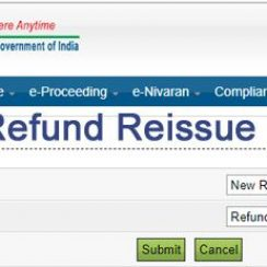 income tax refund reissue