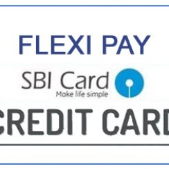 Flexipay SBI Card