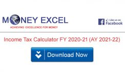 Income Tax Calculator FY 2020