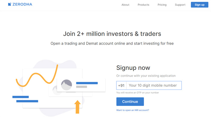 Open Zerodha Account